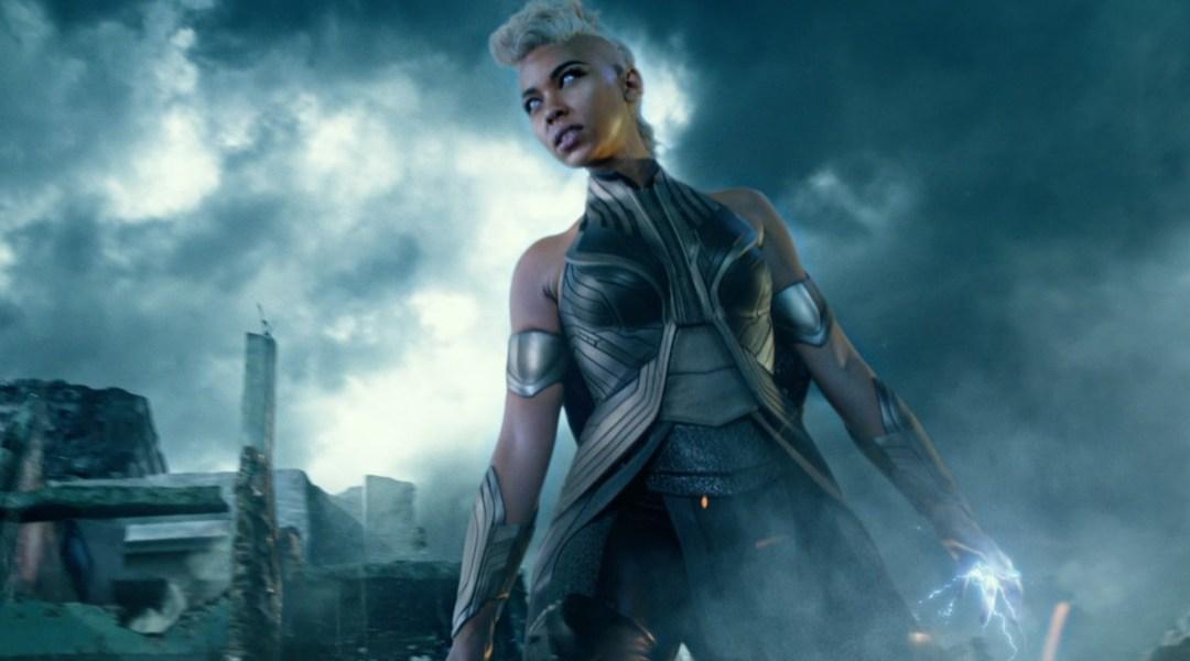 Storm X Men en la película Apocalypse