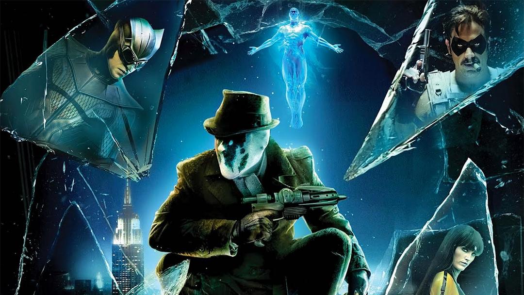 Foto promocional de la película de Watchmen
