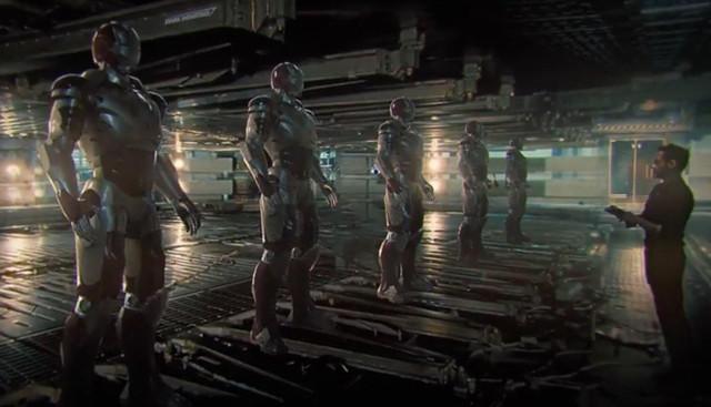 Blu ray de Infinity War tendrá 'infinito' material extra