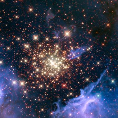 un conjunto de rayos cósmicos en la galaxia
