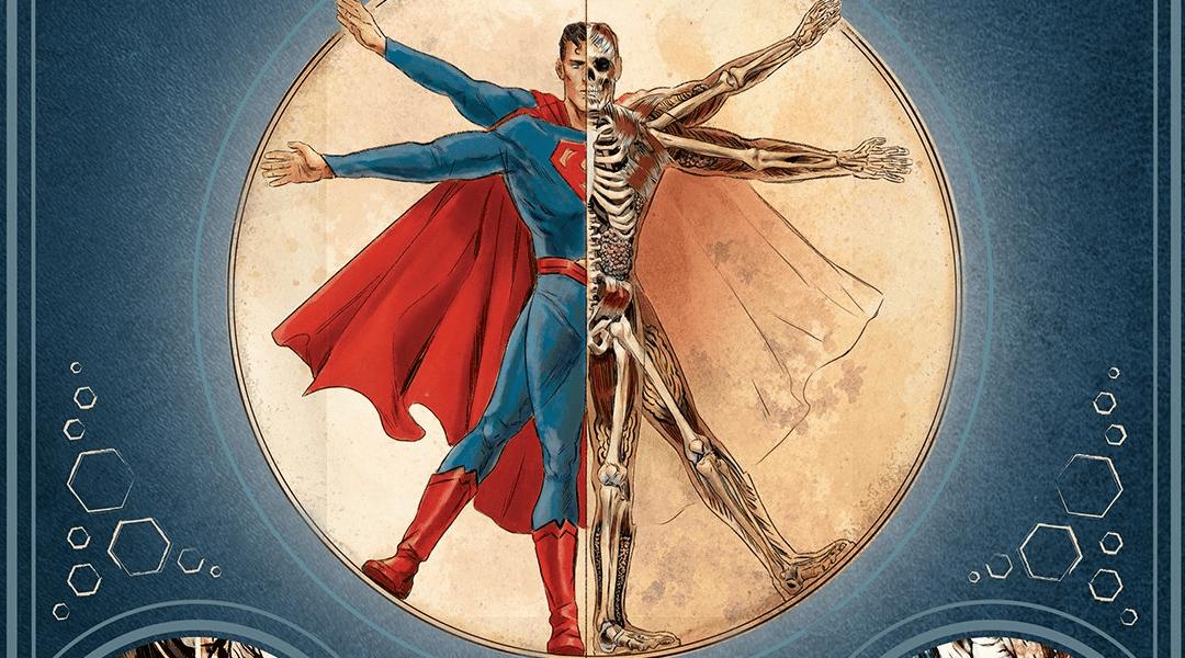 Libro muestra la anatomía de personajes de DC Comics