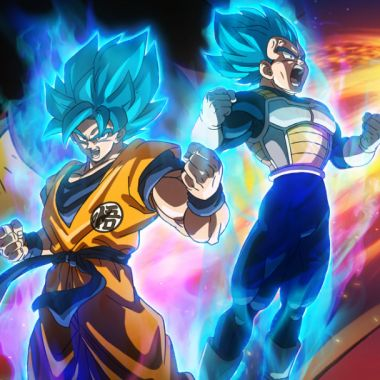 Escena de Dragon Ball Super Broly