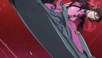 Una escena del teaser de Evangelion