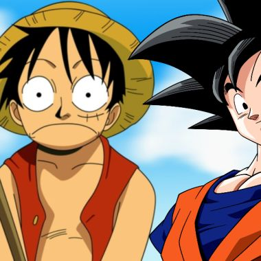 Juntos Goku y Luffy, las estrellas de Dragon Ball y One Piece