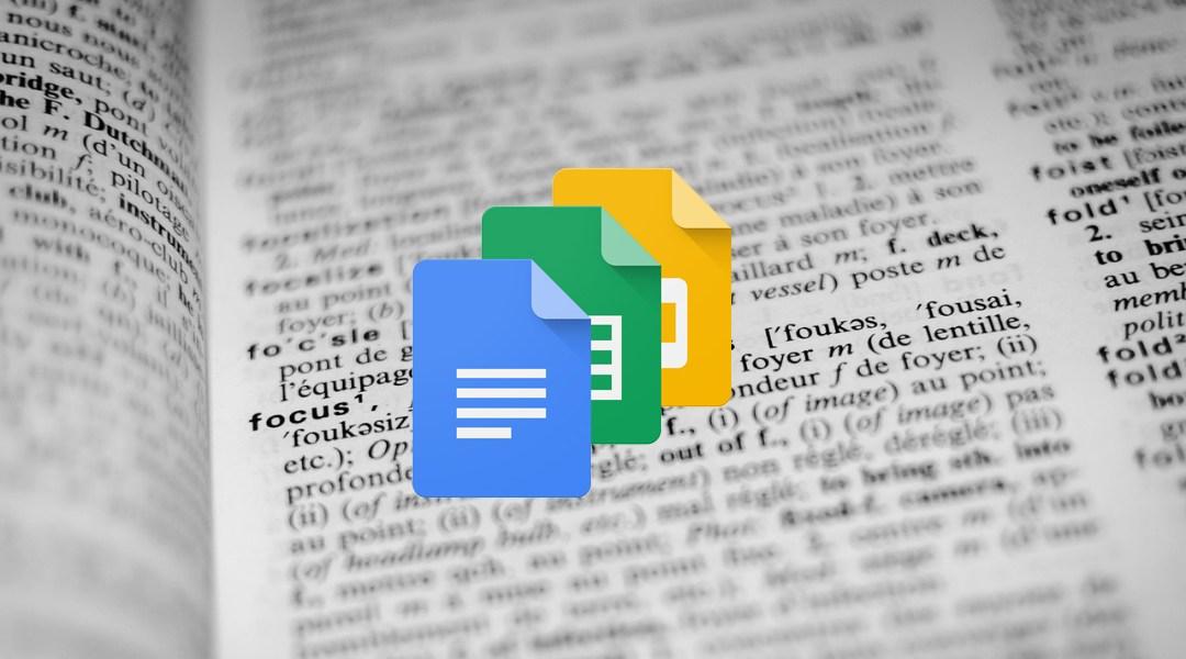 Google Docs corregirá los errores gramaticales con IA