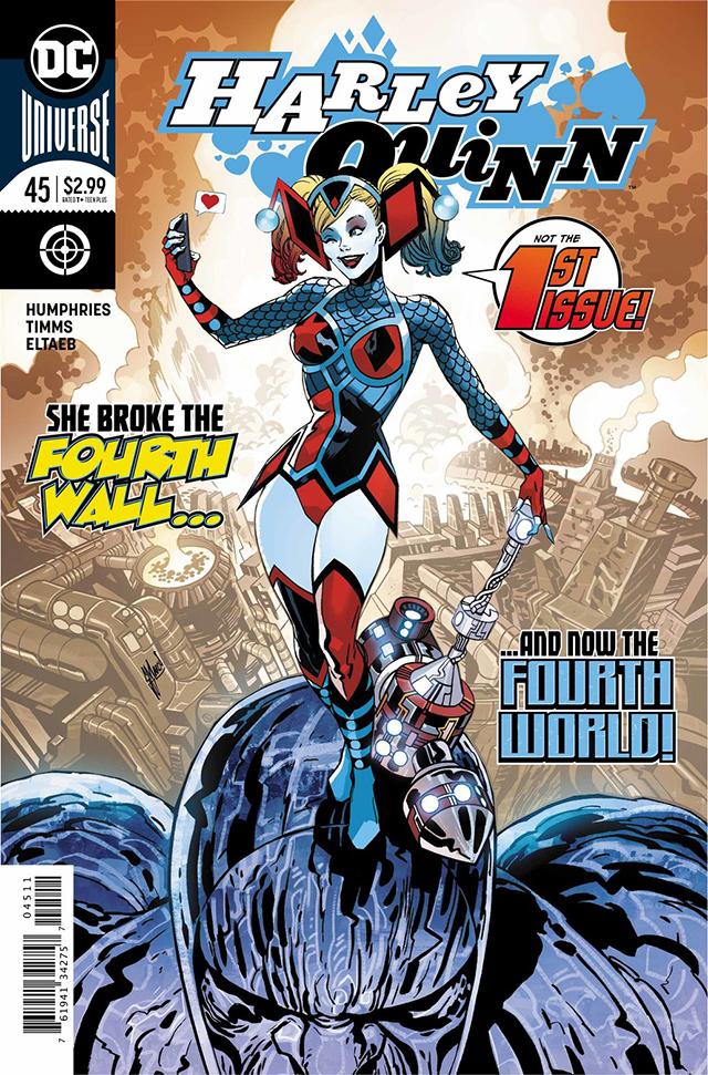 Portada del cómic de Harley Quinn
