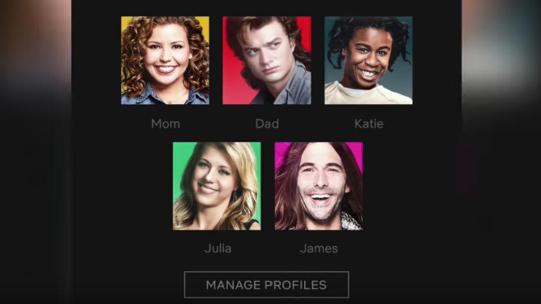 Netflix está cambiando sus íconos de foto de perfil