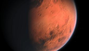 Marte imaginada por Aynur Zakirov