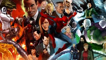 Villanos de Spider man en los comics