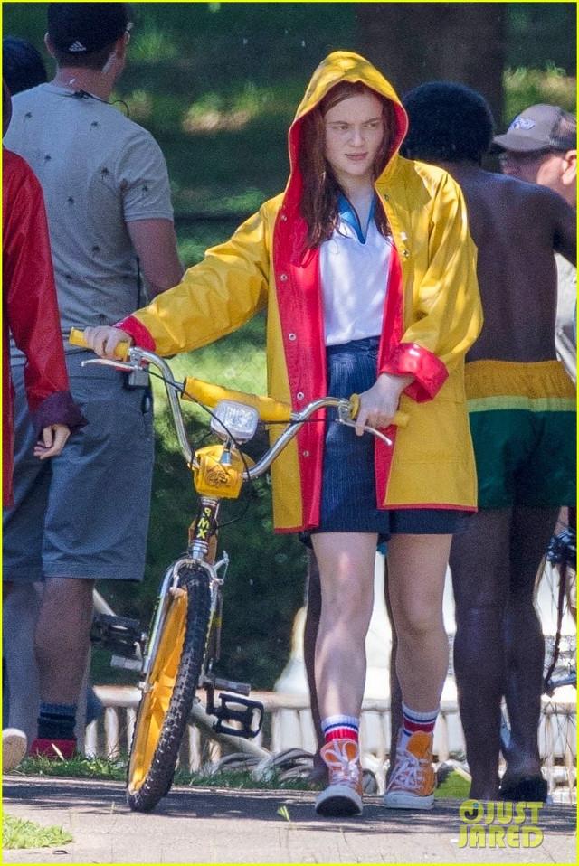 Sadie Sink el set de Stranger Things 3
