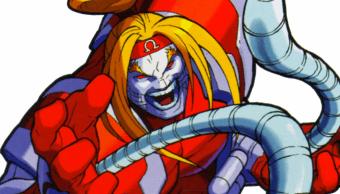 El villano Omega Red en su versión de los juegos de Capcom