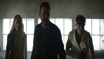 El Green Ranger y Ryu en un corto oficial