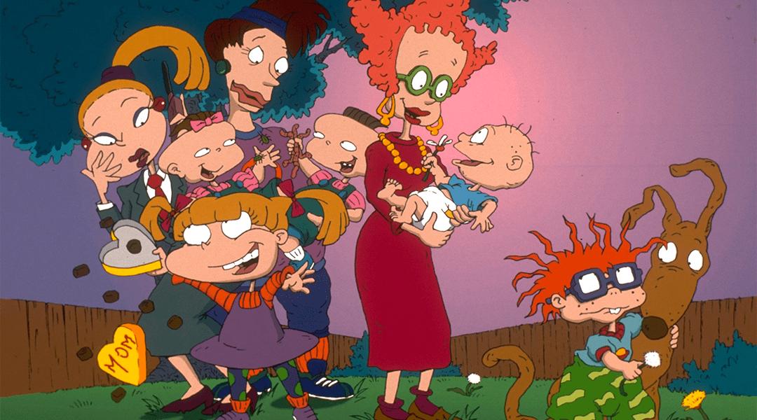 Una imagen de los rugrats, personajes de animacion