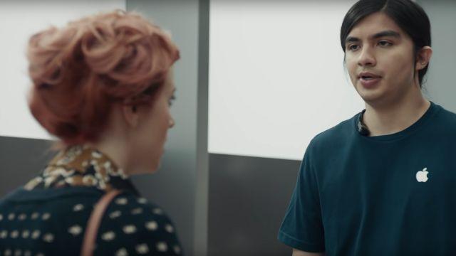 Un empleado de Apple en comercial de Samsung