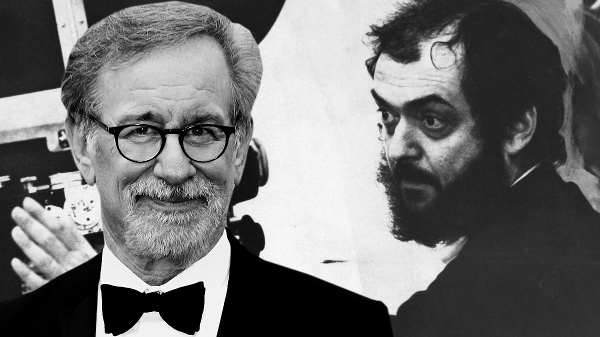 Steven Spielberg y Stanley Kubrick juntos