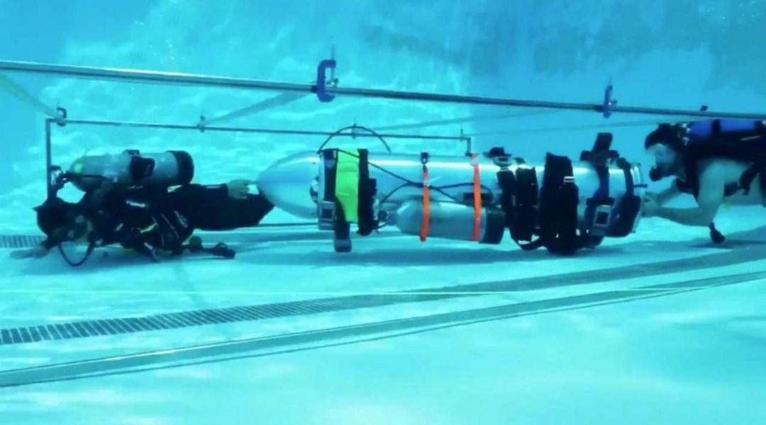 Así es el mini submarino que creó Elon Musk para Tailandia