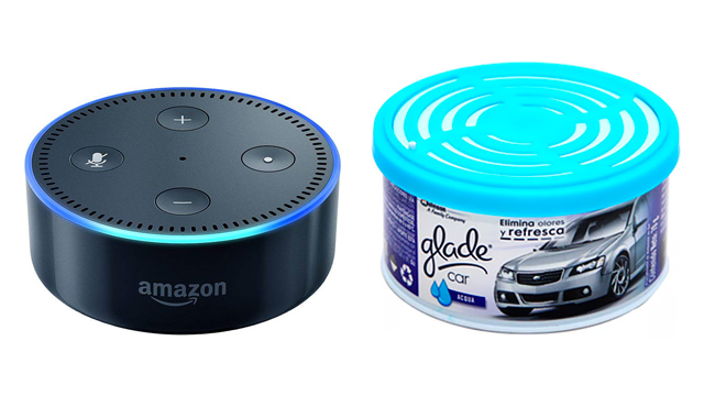 Amazon Echo Dot bocinas inteligentes aromatizantes