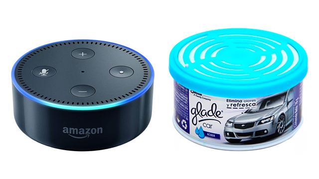 Amazon Echo Dot bocinas inteligentes aromatizantes