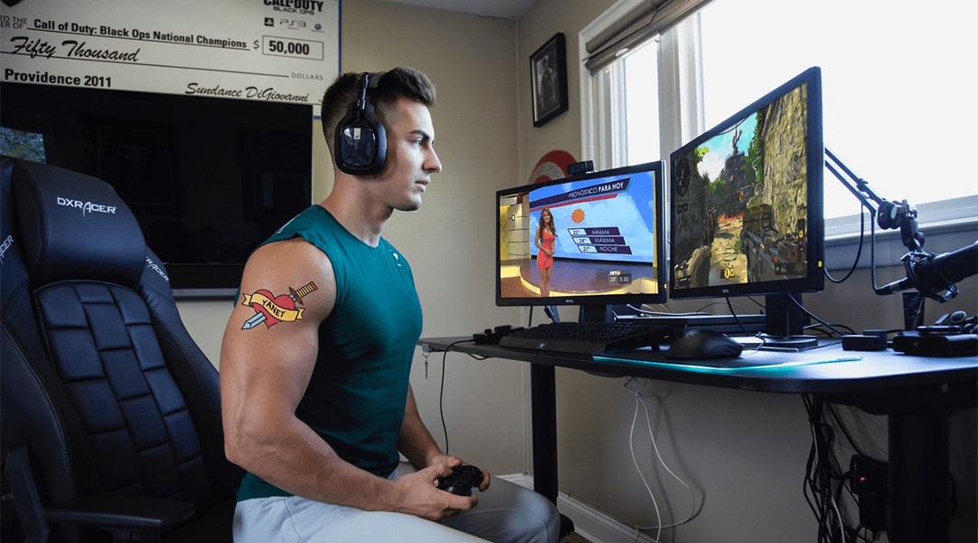 El gamer profesional Doug 'FaZe Censor' Martin