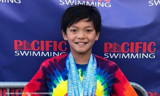Niño de 10 años rompe récord de Michael Phelps