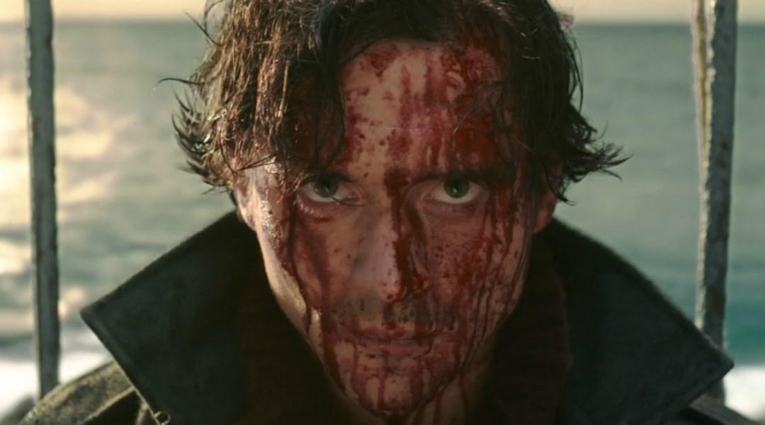 Imagen promocional de la película Cold Skin