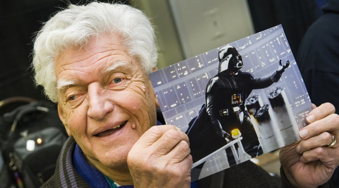 El actor que dio vida a Darth Vader