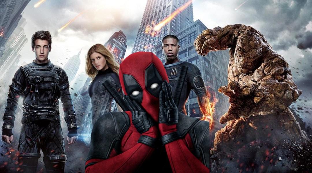 fantastic-four-vs-deadpool Los 4 Fantásticos iban a aparecer en Deadpool 2