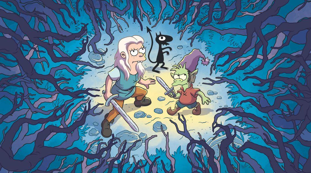 Imagen promocional de Desencanto lo nuevo de Matt Groening
