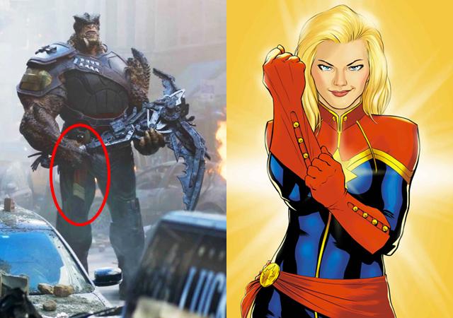 Infinity War Captain Marvel Easter Egg