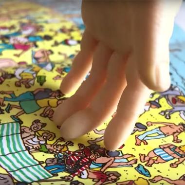 La mano robot que puede encontrar a Wally en segundos