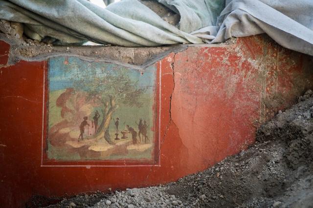 Representación de un sacrificio Foto: Cesare Abbate / Parco Archeologico di Pompei