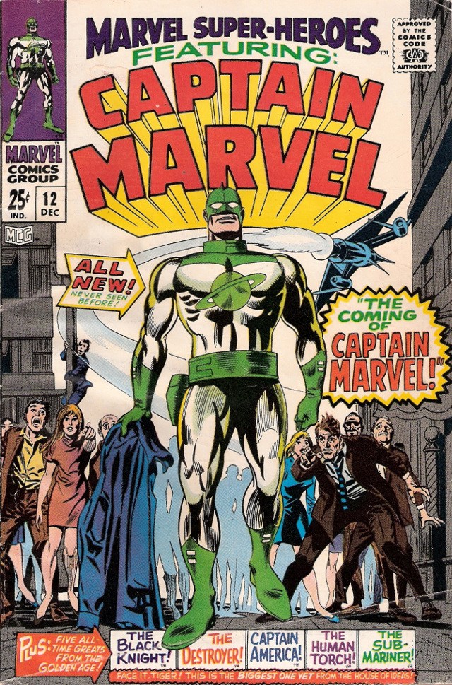 Portada de Captain Marvel No 1 (Marvel)