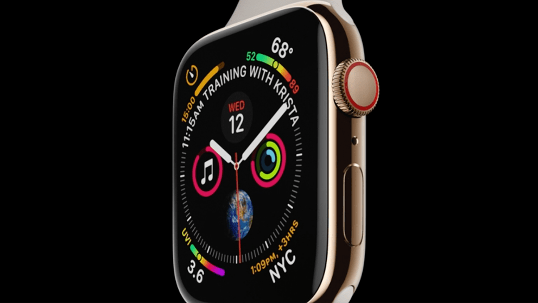 El nuevo reloj inteligente Apple Watch Series 4