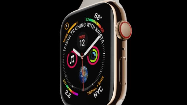 El nuevo reloj inteligente Apple Watch Series 4