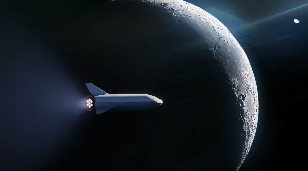 SpaceX enviará a su primer turista lunar a bordo del BFR