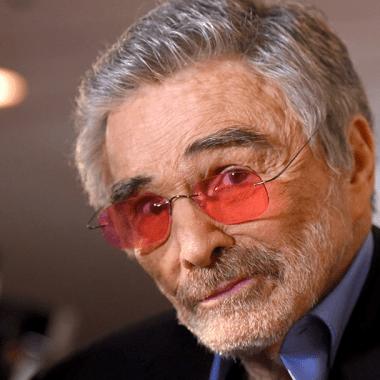 El actor recien fallecido Burt Reynolds