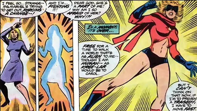 Origen de Carol Danvers como Ms. Marvel