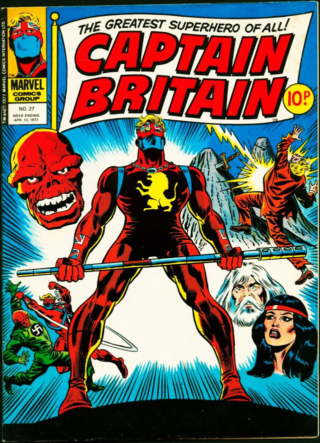 Captain Bretaña (Marvel)