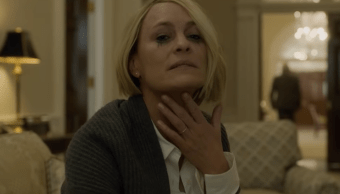 Claire Underwood interpretada por Robin Wright en house of Cards