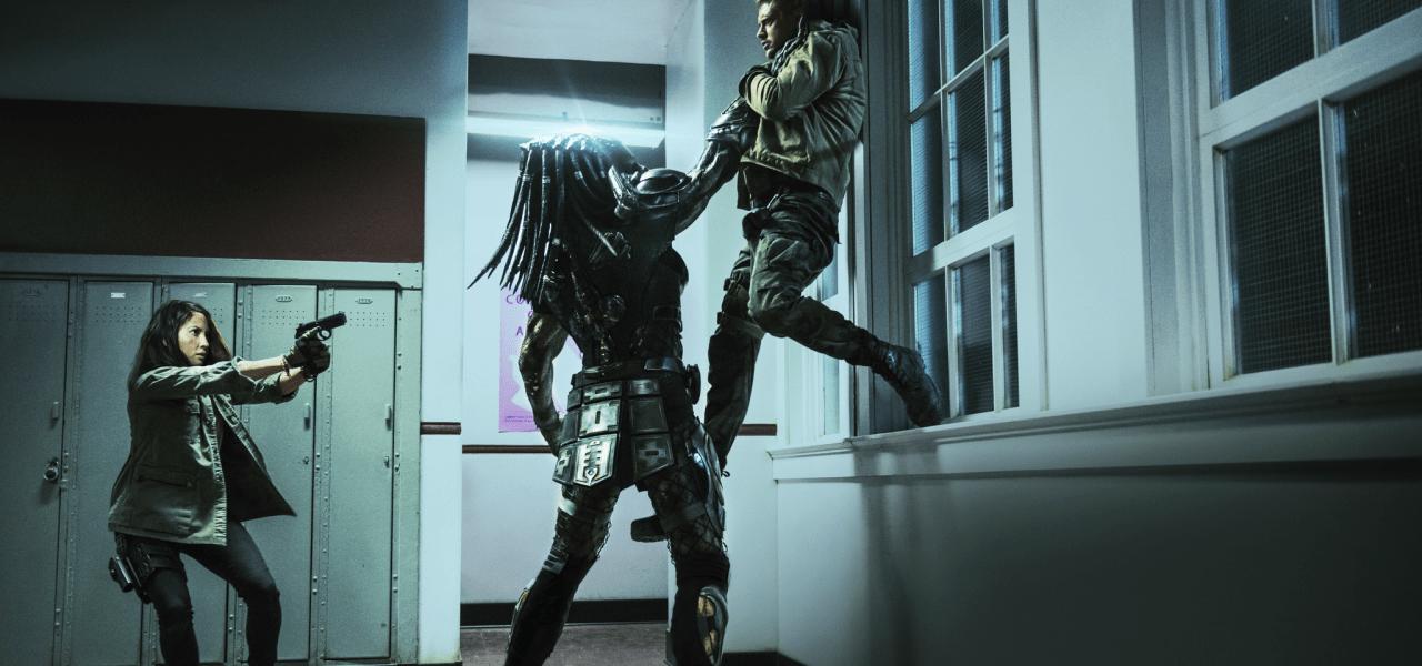 The Predator, El Depredador en una escena de la película