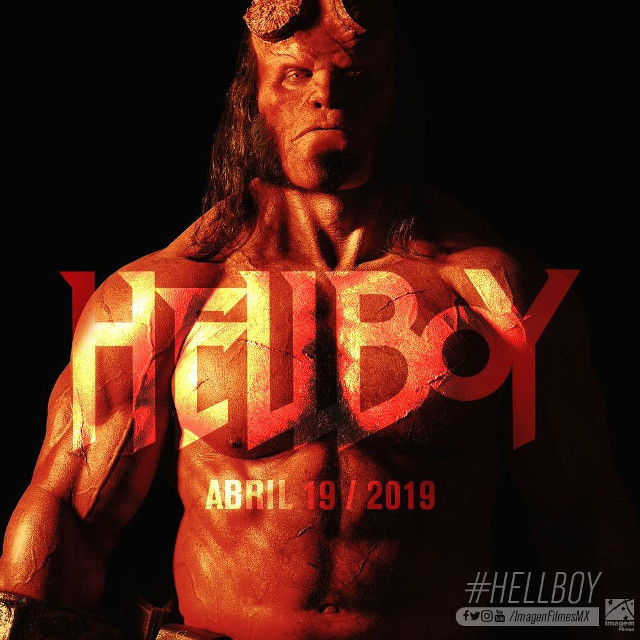 Fecha de estreno de Hellboy en México.