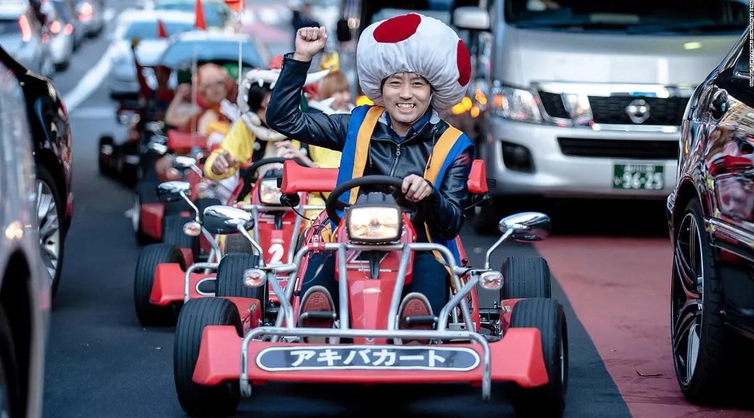 Mario Kart Japon