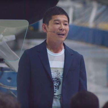 El primer turista en visitar la Luna con SpaceX