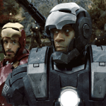 Don Cheadle caracterizado como War Machine