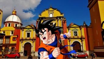 Tocan opening de Dragon Ball Z en Catedral de Orizaba