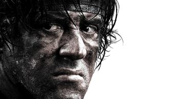 Sylvester Stallone como Rambo en la cuarta pelicula