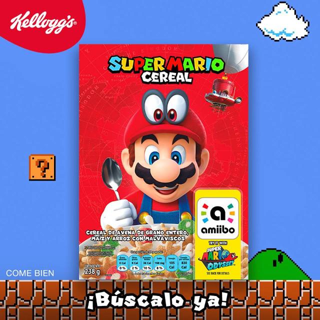 Super Mario Cereal
