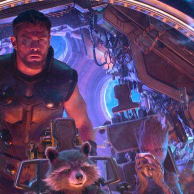 Filtran nuevos uniformes de Thor y Rocket para Avengers 4