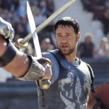 Una escena de la película Gladiador