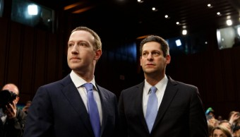 Joel Kaplan y Mark Zuckerberg. (Crédito Tom Brenner / The New York Times)